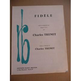 FIDELE Charles Trenet
