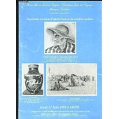 Catalogue De Vente Aux Encheres - Importante Vacation D'objets D'arts Et De Meubles Anciens - 17 Juin 1993 de VERGNE H-M L / CHRISTIAN JEAN DIT CAZEAU / DUBERN
