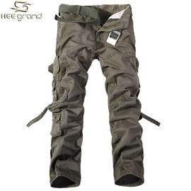Pantalon Cargo Heegrand Pour Homme Type Jardinier Sans Ceinture