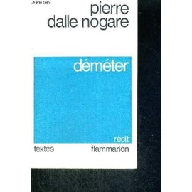Demeter- Recit pas cher