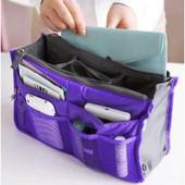 Organiseur Organisateur Range Sac � Main Pochette Trousse De Toilette Carte Voyage Maquillage Telephone Portable