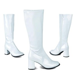 Bottes blanches disco femme taille 44 doccasion