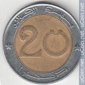 Pi�ce De 20 Dinars 1999 - 1420