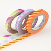 Set De 3 Rouleaux 6mm X 10m Slim Twist Cord B - Masking Tape