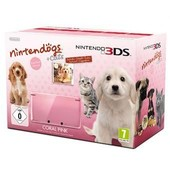 Console 3ds Rose Corail + Nintendogs + Cats Golden