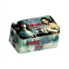 Wwe Topps Slam Attax Evolution Tin Box Collector Undertaker / Cm Punk