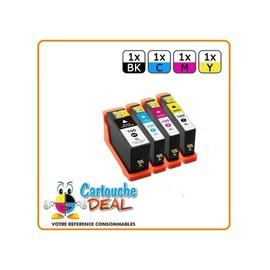 Lexmark 100xl Lot 4 Cartouches Compatible Lexmark Pro 200 205 700 705 901 905