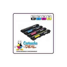 Brother Tn241 Tn245 - Lot 4 Toners Compatible Dcp 9015cdw 9020cdw Hl 3140cw 3150cdw 3170cdw Mfc 9140cdn 9330cdw 9340cdw