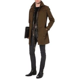 Trench Marron The Kooples - Homme - Taille 50 (M/L)