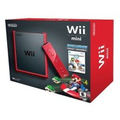 Nintendo Wii Mini - Console De Jeux - Rouge, Noir Mat - Mario Kart Wii