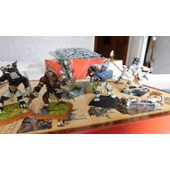 6 Wolfens Confrontation/Dogs Of War Figurines