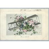 Carte Postale Ancienne ( 1909 ) En Couleurs :