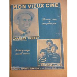 Mon vieux ciné charles trenet
