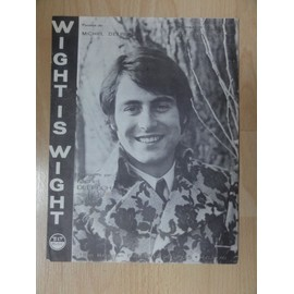 """Partition Ancienne de Michel Delpech """" Wight is Wight """""""