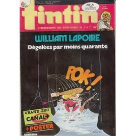 Tintin L'hebdomadaire Des Super Jeunes N� 584 : Tintin