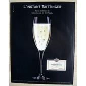 Publicit� Papier - Champagne Taittinger De 2004