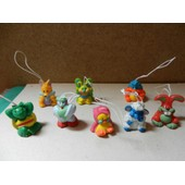 Figurines S�rie Compl�te, 8 Figs