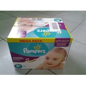 Couche Pampers Active Fit Premium Protection 3+ Mega Pack 80 Couches.