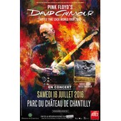 Place De Concert David Gilmour (Pink Floyd) - Chantilly - 16 Juillet 2016