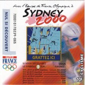 Sydney 2000 (Cyclisme) Fran�aise Des Jeux