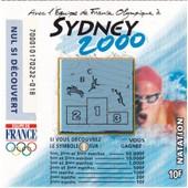 Sydney 2000 (Natation) Fran�aise Des Jeux