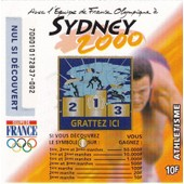 Sydney 2000 (Athl�tisme) Fran�aise Des Jeux