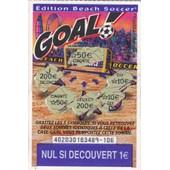Goal �dition Beach Soccer Fran�aise Des Jeux