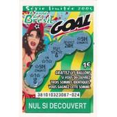 Goal S�rie Limit�e 2005 (Ann�e Du Br�sil) Fran�aise Des Jeux