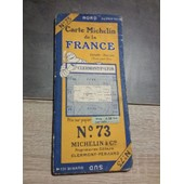 Carte Michelin N�73 Clermont Ferrand-Lyon 1925-2560-15 de michelin