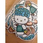 Lot De 50 Punchs Hello Kitty Dans La Salle De Bain