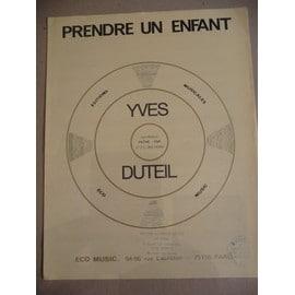 Prendre un enfant  Yves Duteil