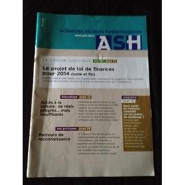 Actualit�s Sociales Hebdomadaires - Ash 2829 - Le Projet De Loi De Finances Pour 2014 (Suite Et Fin)
