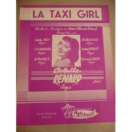 LA TAXI GIRL colette Renard