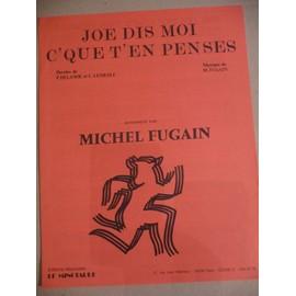 JOE DIS MOI C'QUE T'EN PENSES Michel Fugain
