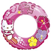 Hello Kitty - Intex - Grande Bouee Gonflable 61cm