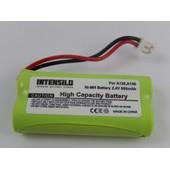 INTENSILO NiMH Batterie 800mAh (2.4V) combin� t�l�phonique, t�l�phone fixe Siemens Gigaset AS150 TRIO, AS160, Q063 comme V30145-K1310-X359.