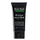 Shills, Black Mask 50ml - Masque Visage Beaut� Gommage Nettoyant Purifiant Exfoliant Anti-Acn� Revitalisant