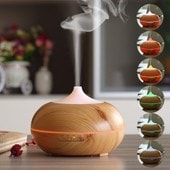 Wishes Mall 300ml Diffuseur d'Huiles Essentielles Aromath�rapie Diffuseur Parfum