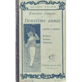 Exercices Fran�ais De 2� Ann�e Larive Et Fleury A.Colin 1906 de larive fleury