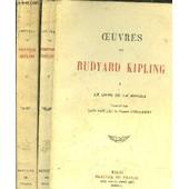Oeuvres De Rudyard Kipling / Tome I+Ii / Le Livre De La Jungle - Le Second Livre De La Jungle de rudyard kipling