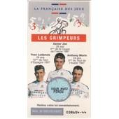 Ticket �quipe Cycliste (Grimpeurs) Fran�aise Des Jeux 1998