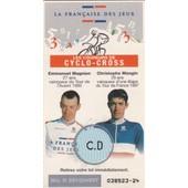 Ticket �quipe Cycliste (Cyclo-Cross) Fran�aise Des Jeux 1998