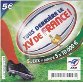 Ticket Xv De France Fran�aise Des Jeux