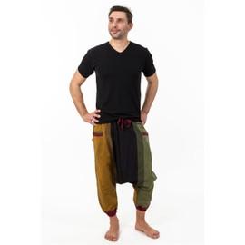 Fantazia - Sarouel Homme L�ger - Pantacourt Saroual Babacool Homme Coton Leger Rasta Jayjay
