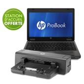 HP ProBook 6560B + Station d'acceuil
