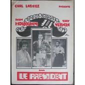Le Pr�sident - Der Pr�sident De Gennaro Righelli - Film Muet 1928 - Avec Ivan Mosjoukine, Suzy Vernon - Livret De Cin�ma Originale 6 Pages - 38x28 Cm - Dossier De Presse