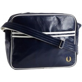 Fred Perry, Sac Besace Messenger - Navy Bleu, Unique