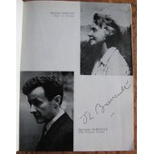 Autographes Jean Louis Barrault, Simone Val�re, Jean Dessailly, Dominique Paturel 1964 / Programme