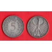 5 Deutsche Mark 1951 D Argent Allemagne