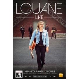 LOUANE - Live - Concert - AFFICHE / POSTER Livré Roulé